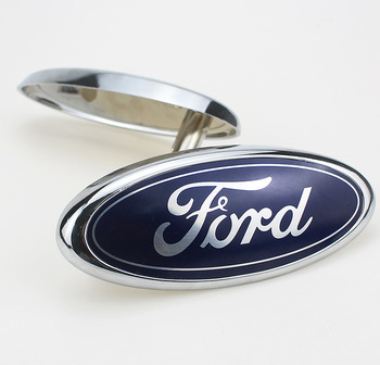 цена на Fashion NEW Car Front Leading Mark Front Face Grille Car Front Standard Ford F150 Explorers Ford Front Leading Mark Car Styling