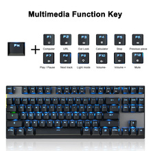 87Keys Keyboards Dual Modes Keyboard for Win XP 7 10 Vista Android LHB99
