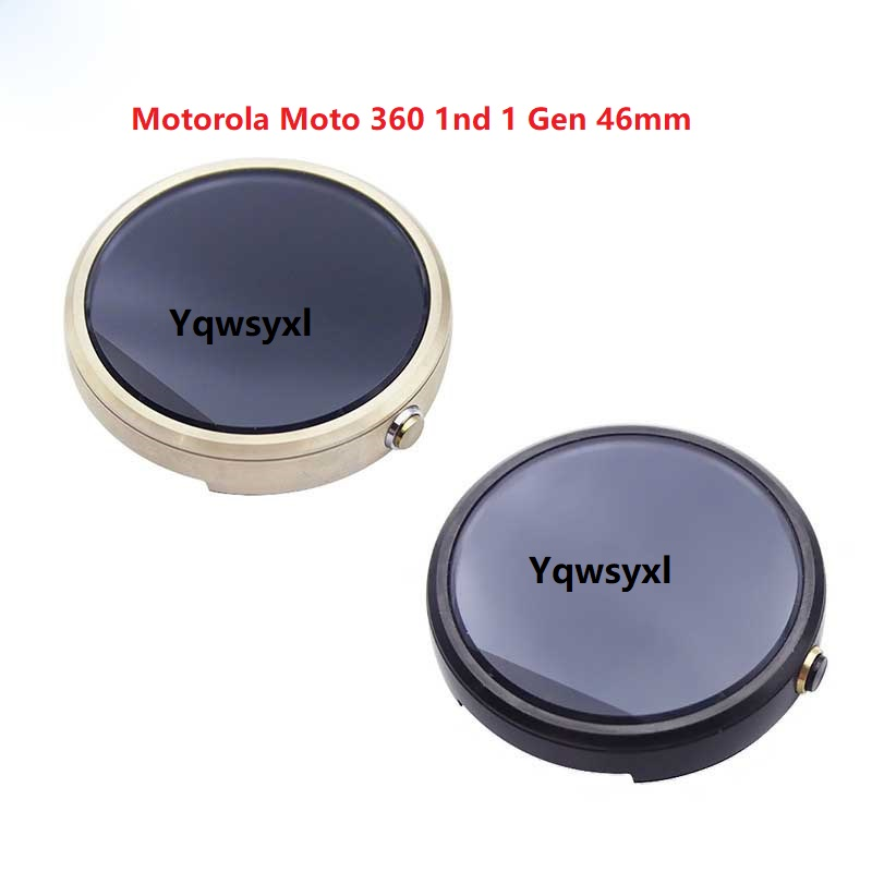 Yqwsyxl Original Full LCD Screen Assembly+Frame For Motorola Moto 360 1nd 1 Gen 46mm  Free Shipping
