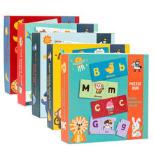 2021 Kids Toys Educational Early Education Matching Puzzles Alphanumeric Cards Games Toddler Toy Montessori children for gift