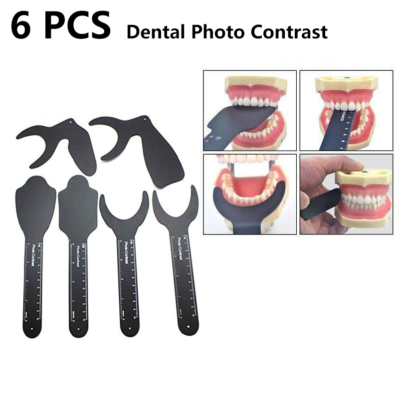 Denxy Dental Photo Contrast Kit Dental Oral Imaging Black Background Board Palatal Contrast