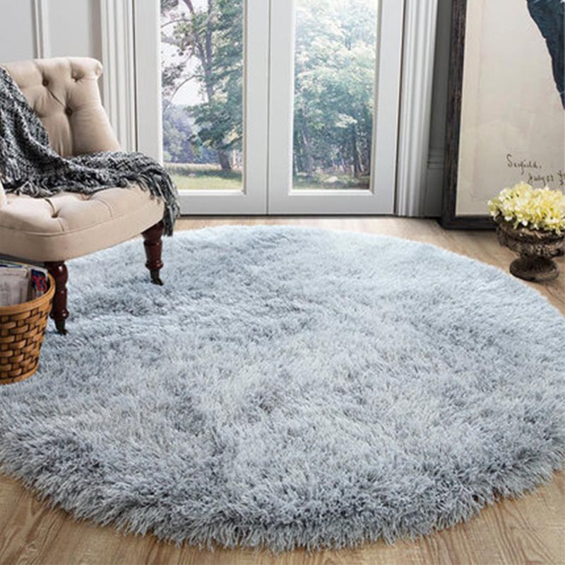 Round Fluffy White Carpet Living Room Plush Shaggy Rug Home Decor Bedroom Sofa Coffee Table Floor Mat Soft Kids Room Rugs Rug Aliexpress