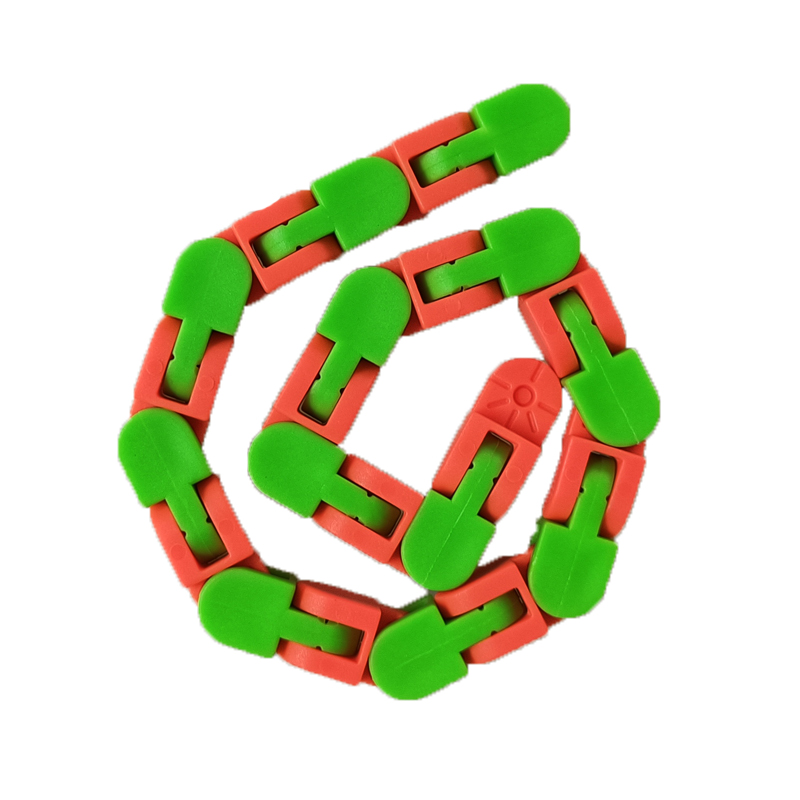 Toy Bracelet Fidget Spinner Chain Educatiaonal-Toys Reliever Adult Children for Kids img2