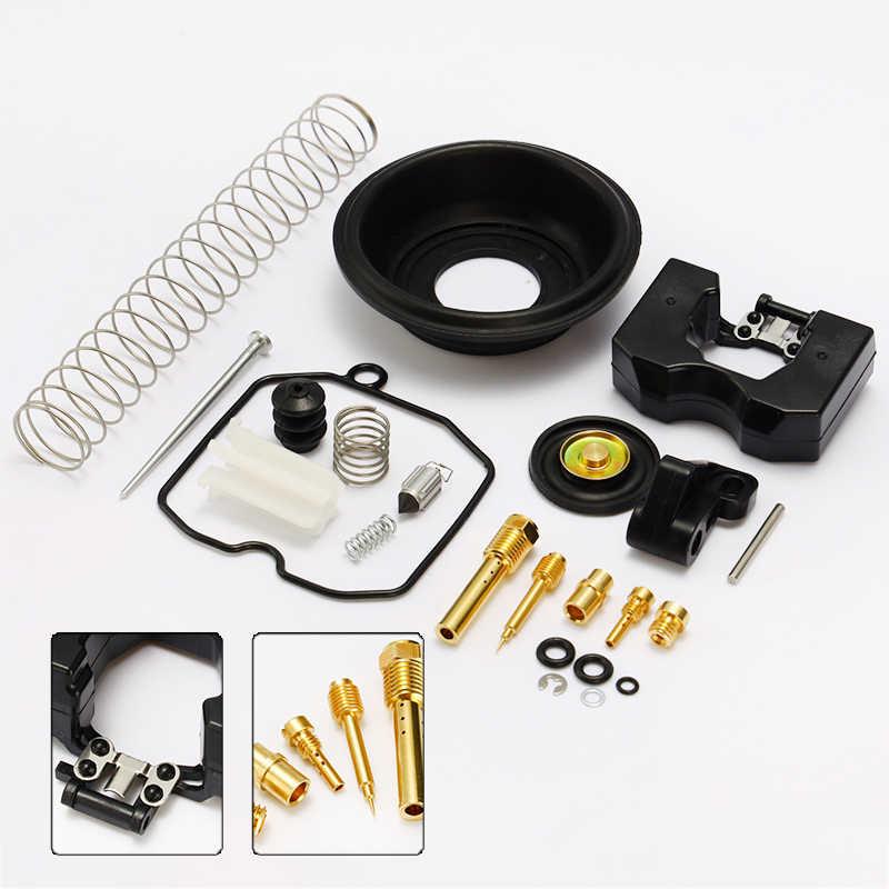 QH Kit de reconstrucci/ón de carburador de carbohidratos Compatible con MIKUNI HSR 42 45 HSR42 HSR45 Completo Completo Completo