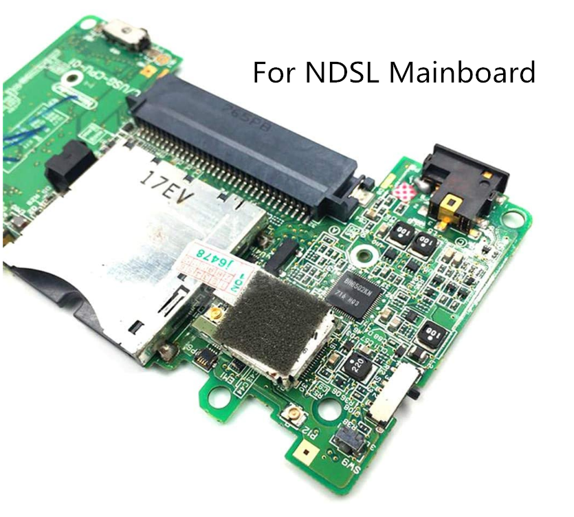 Motherboard with Card Slot for Nintend DS NDS Lite Gamepad Console PCB Board Used Original Mainboard Parts for NDSL Accessories