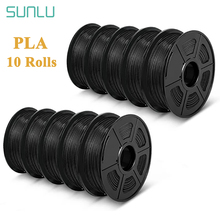 SUNLU PLA Filament 1.75mm 1kg 3D Printer Filament Plastic PLA 3D Printing Materials 10rolls/set