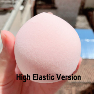 Image 3 - 1Pc Peach/Tuanzi/Xue Mei Niang Beauty Makeup Egg Makeup Powder Puff Gift Perfect Package Makeup Sponge Dry Moistened Super Soft