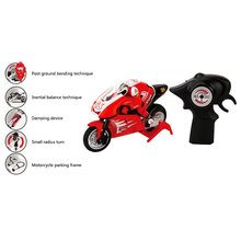RC Motorcycle 8012 2.4GHz 1/20 Scale 4CH Remote Control shockproof rear wheel 2 Wheels High Speed Gift Toy for kid