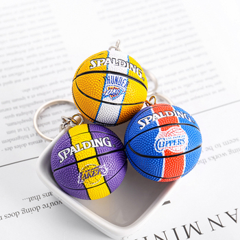 New Fashion Sports Keychain Car Keyring Basketball Pendant For Favorite Sportsman's Gift