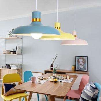 Big-Pendant-Lights Lighting-Lamp Home-Decor Nordic Adjustable Minimalism Bar And E27