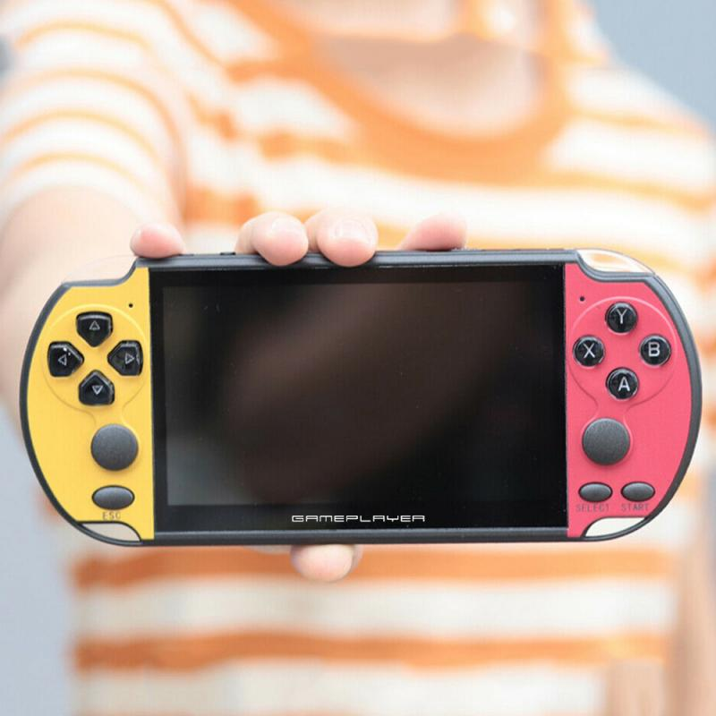 PSP HD מסך 5.1inch רוקר כפול כף יד PSP קונסולת המשחק מובנה עשרה משחקים באלפים תמונת תמיכת mp4 mp3 לשחק ספר אלקטרוני (5)