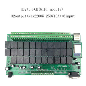 Image 2 - Kincony 4 8 16 32 Gang Industrial Level Smart Home Automation Module Controller System 250V10A WiFi/Ethernet Remote Control PCB