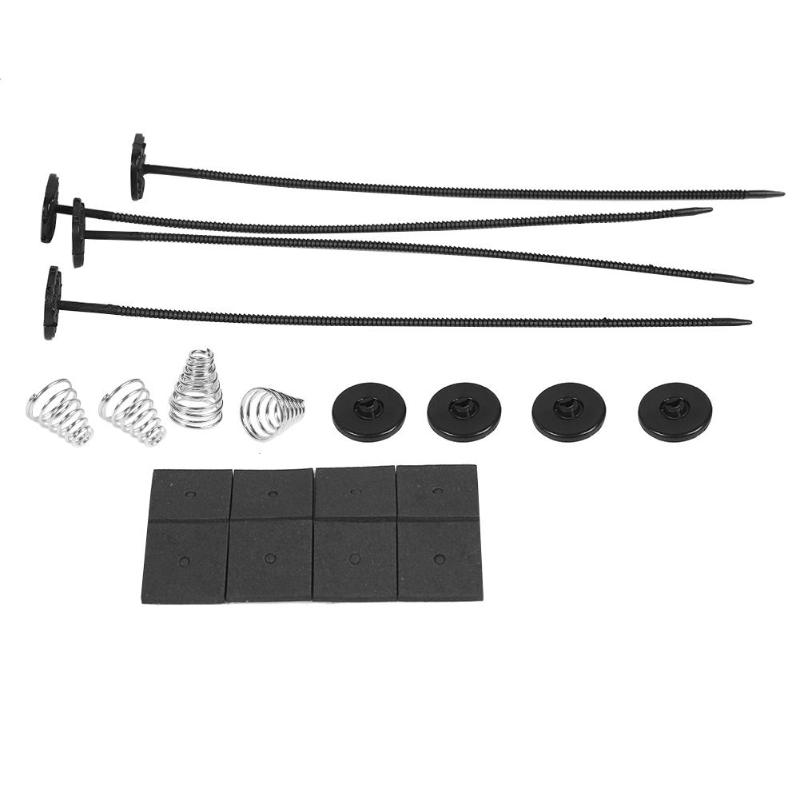Radiator Fan Bracket-Parts Mounting-Kit Universal Electric Car Plastic Straps Ties title=