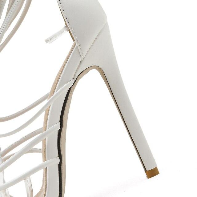 GENSHUO Summer Women Sandals 4