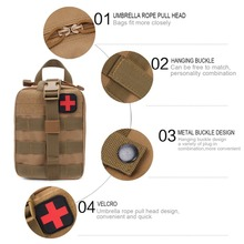 NEW Camping bag Outdoor First Aid Kit Tactical Medical Bag Traval backpack Survival Kits For Travel Climbing Emergency Case brand new outdoor edc molle tactical pouch bag emergency first aid kit bag travel camping hiking climbing medical kits bags