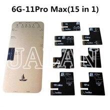 جهاز اختبار LCD DL S200 لهاتف Iphone 12 11Pro MAX XS XR X 8 7 6S ، صورة ثلاثية الأبعاد ، اختبار سطوع البيانات ، قراءة وكتابة