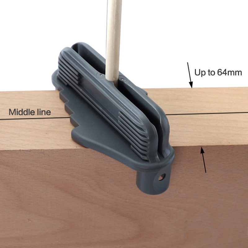 New Multifunction Center Offset Scriber Marking Tool Magnetic Carpenter Bottom Gauge Woodworker Drill Locator Center Scribe