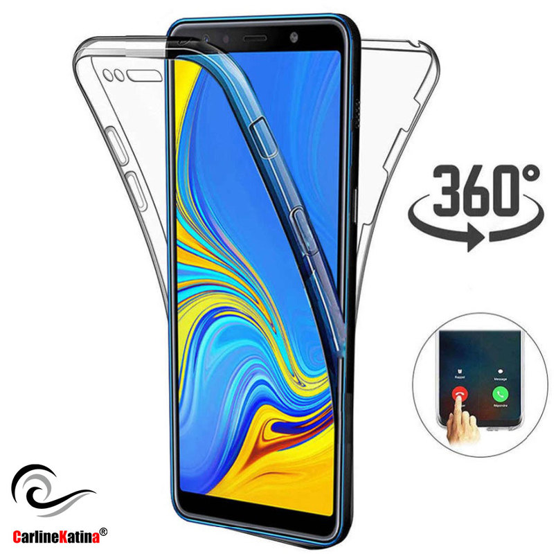 <font><b>360</b></font> Full Body Phone <font><b>Case</b></font> For <font><b>Samsung</b></font> Galaxy S10 S10E S10 plus Clear Soft Back Cover For S9 <font><b>Note9</b></font> Coque all covered image