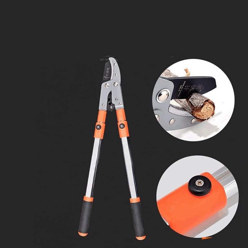 SK-5 Steel Beak Shape 75MM Retractable Hercules Thick Branch Shear Garden Gardening Fruit Tree Scissors