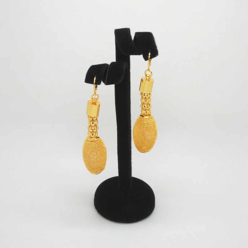 ממלכת Ma סיטונאי ניגרי חתונה אפריקאית חרוזים קריסטל כלה תכשיטי סט דובאי זהב תכשיטי סטים