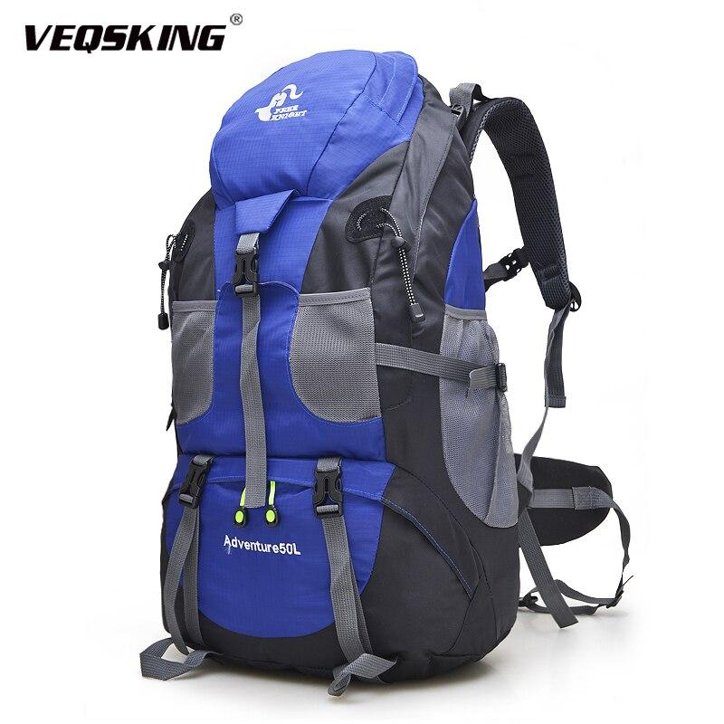 40L Rucksack Waterproof Hiking Camping Bag Travel Backpack Outdoor Luggage UK