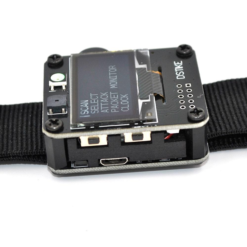 Image 3 - DSTIKE WiFi Deauther Watch V1  Smart Watch  Arduino  NodeMCU   ESP8266 Programmable Development BoardSmart Wristbands   -