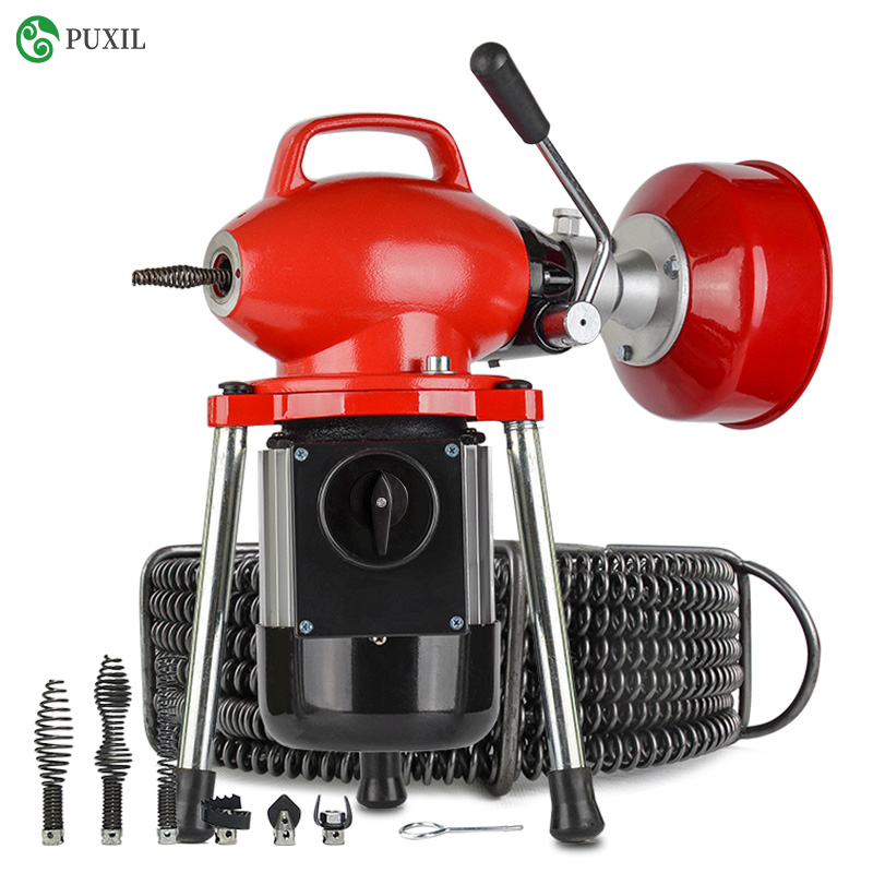 Pipe Dredging Machine Toilet Tool Accessories Toilet Lock New Product GQ-80 Electric Sewer Toilet