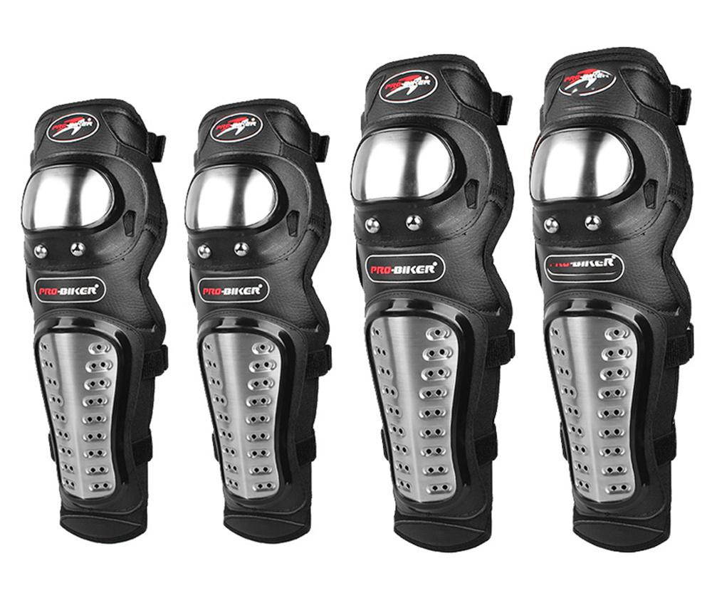 4Pcs/set Motorcycle Protector Knee…