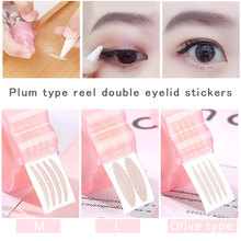 Eyelid Patch Effective 360pcs Breathable Fiber Double Eyelid Patch Magic Natural Invisible Eyelid Sticker Makeup Tools reusable plastic silicone double eyelid maker pink pair
