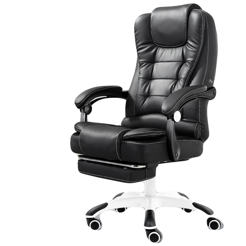 High Quality Office Massage Armchair Fauteuil Boss Gaming Chair Ergonomics Synthetic Leather Cowhide Can Lie Wheel Furniture