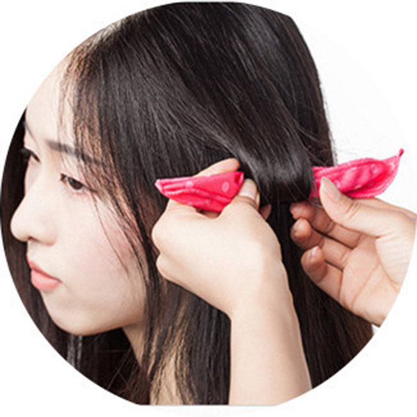 10 Pcs Flexible Soft Hair Rollers Best Night Sleep Wave Point Foam Hair Curler Rollers And  Diy Sponge Magic Curler Hair Rollers