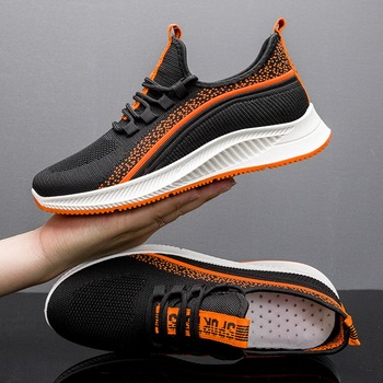 2020 New Fashion Men Breathable Sneakers Lightweight Men Casual Shoes Casual Shoes Male Footwear Lace Up Walking Travel Shoes