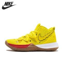 Оригинальные мужские баскетбольные кроссовки Nike Kyrie Irving 5, Новое поступление, легкие спортивные уличные кроссовки, размер 40-46