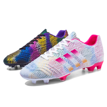 Football Sneakers Men Outdoor Sport Soccer Shoes High Quality TF/FG Zapatillas Futbol Hombre Adults Kids Turf Training Cleats