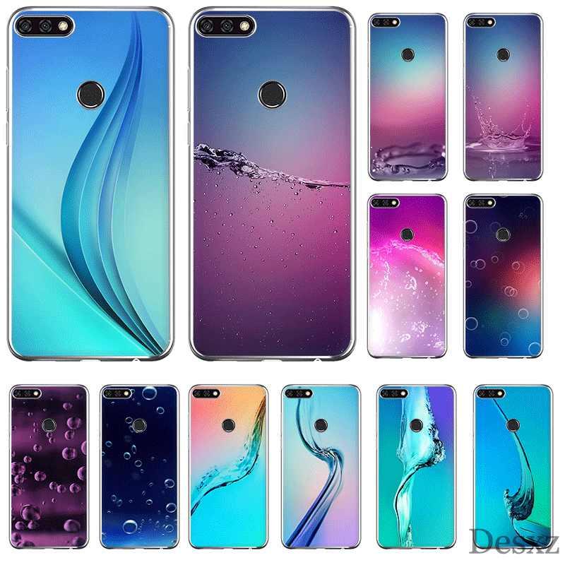 Мобильный телефон чехол для телефона чехол для huawei Коврики 30 20 10 Pro Lite Y6 Y7 Y9 Nova 2 3 2i 3i 3 4 5i оболочки Волны Океана Подводный Свет