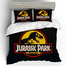 Jurassic Park 3D King Size Bed Linen Set High Luxury Quality Bedding Set Duvets And Linen Sets Bed Linen Cotton Home Textiles bed linen markiza 100% cotton beautiful bedding set from russia excellent quality produced by the company ecotex