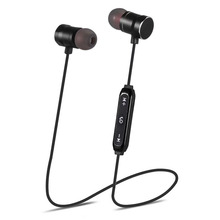 Wireless Bluetooth Earphone Headset Phone-Neckband Sport-Earbuds Music Magnetic Headphone