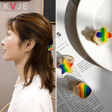 KVJE 2019 New Product Rainbow Pendant Headband Hair Bands for Women HOT SALE Fashion Korean Style Accesories