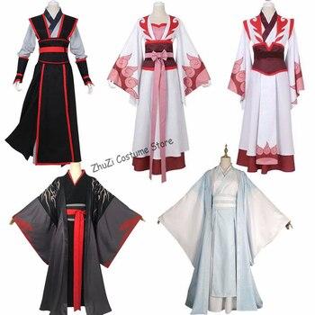 Chinese Anime Mo Dao Zu Shi Cosplay Wei Wuxian Young/Lan wangji/Jiang cheng/Wen Ning Dao Mo To Shi Cosplay Costume компас shi boda