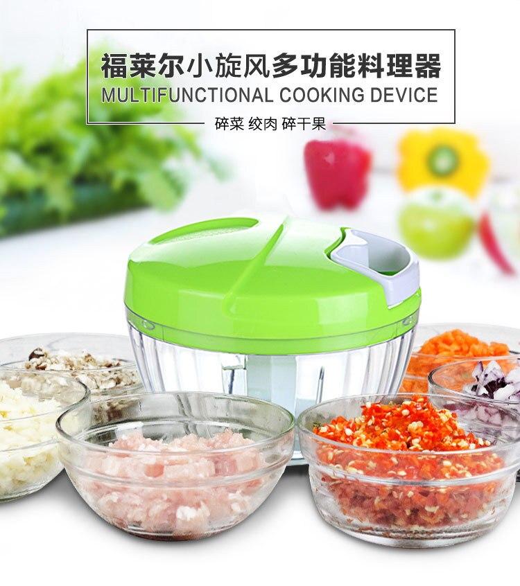 2020 500ML High Quality Hand Chopper  Food Processor Silcer Shredder Salad Maker Grinders Cutter Baby Food Mill Maker Machine