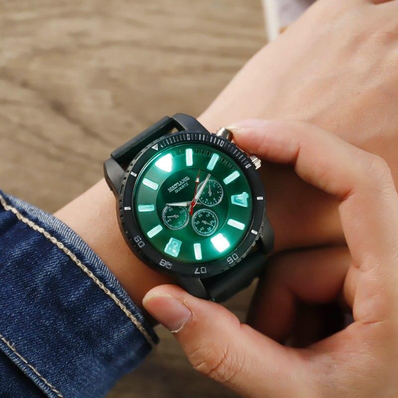 Super Cool Couple Watch Fashion Shining Light Men Wrist Watches Women Quartz Clock Lover Luminous Hour A3278