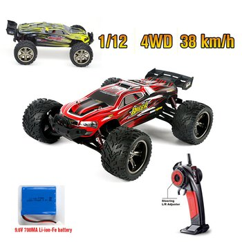 9116 1:12 RC Car Brushed Motors Drive Bigfoot Car 4WD Driving Truck Cars Remote Control Car Model Off-Road Vehicle Toy