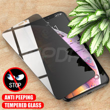 9999D Anti Spy Tempered Glass For iPhone X XR XS 12 11 Pro Max Screen Protector iPhone 8 7 6 6S Plus 5 5S SE Protection Glass