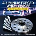 2/4 шт. 12/15/20 мм легированнаякнопка Алюминий T6061-T6 кузницы ступицы колеса для автомобиля прокладки из резец сверхтвердый PCD 5x100/5x112 CB 57,1 мм колес...