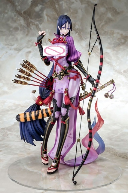 NEW Anime Fate/Grand Orde Berserker Minamoto no Raikou 1/7 Scale Painted Sexy Girls PVC Action Figure Collection Model Toys 26cm