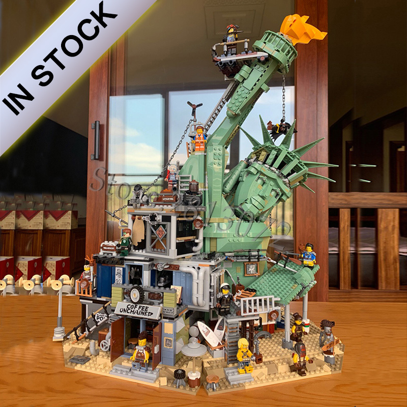 45014 Welcome to Apocalypseburg 3560Pcs Creator Movie 2 Model Building Blocks Compatible with <font><b>70840</b></font> SY1276 11252 Kids Education image