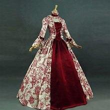 Robe Vintage gothique pour femmes, vêtement Court, col carré, Patchwork, nœud papillon, robes surdimensionnées