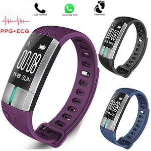 PPG +ECG Heart Rate Monitor Smartwatch G20 Blood Pressure IP67 Waterproof Pedometer Sleep Monitor Fitness Sports Bluetooth Watch