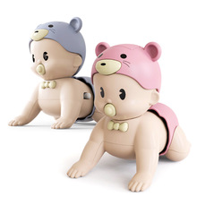 Toddler Baby Crawl Toy Cute Boy Girl Music Walking Child Puzzle Electric Toddlers Learn To Climb Toys Kids Early Education