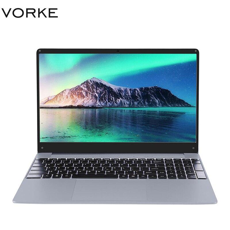 New VORKE Notebook 15 PRO Laptop Intel Core I5-8250U/i7-8550U 15.6'' 1920*1080 Windows 10 8GB/16GB DDR4 256GB/512GB SSD Computer
